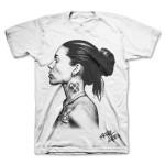 Skylar Grey White Photo T-Shirt
