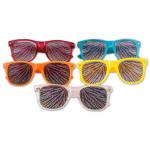 Electric Zoo CustomEyez Zebra Stripe Sunglasses