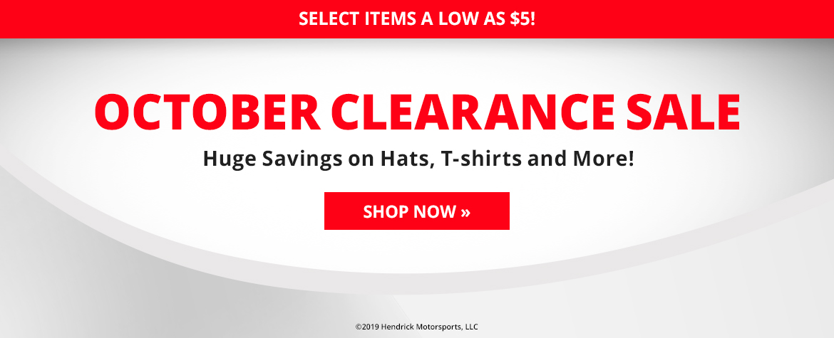 October Clearance