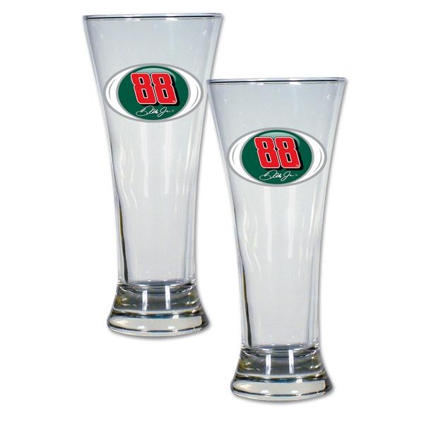 Dale Jr #88 2 pc Pilsner Glass Gift Set