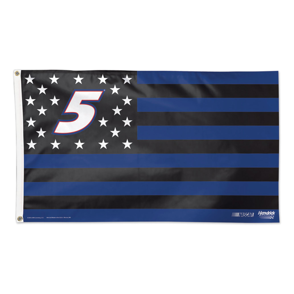 Kasey Kahne #5 Stars and Stripes 3' X 5' Deluxe Flag