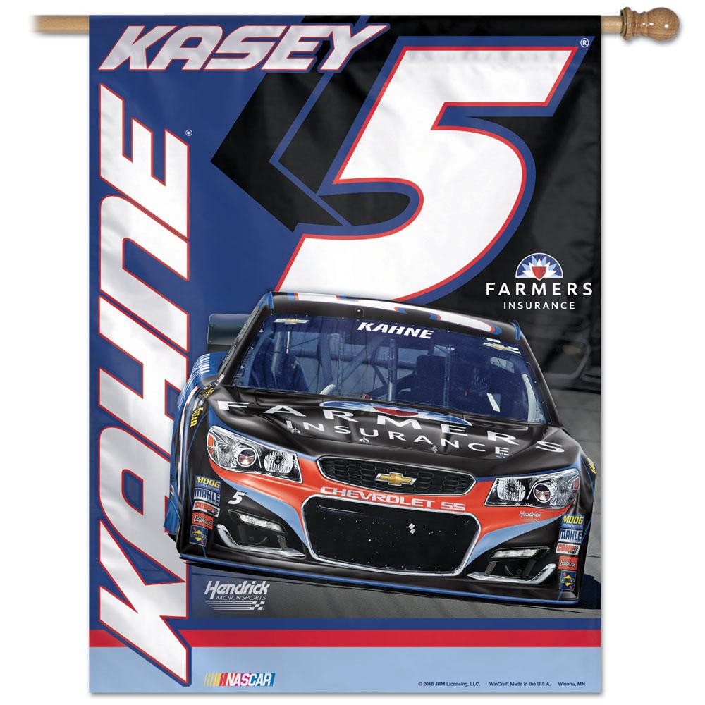 "Kasey Kahne #5 Vertical Flag 27"" x 37"""