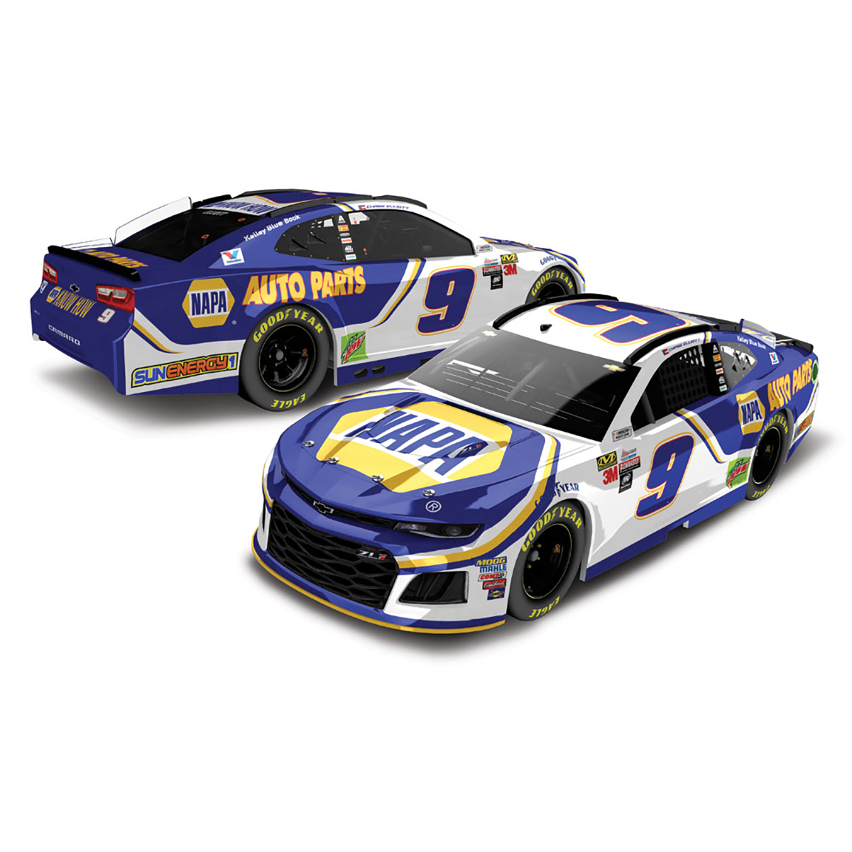Chase Elliott 2018 NASCAR Cup Series No. 9 NAPA HO 1:24 Die-Cast