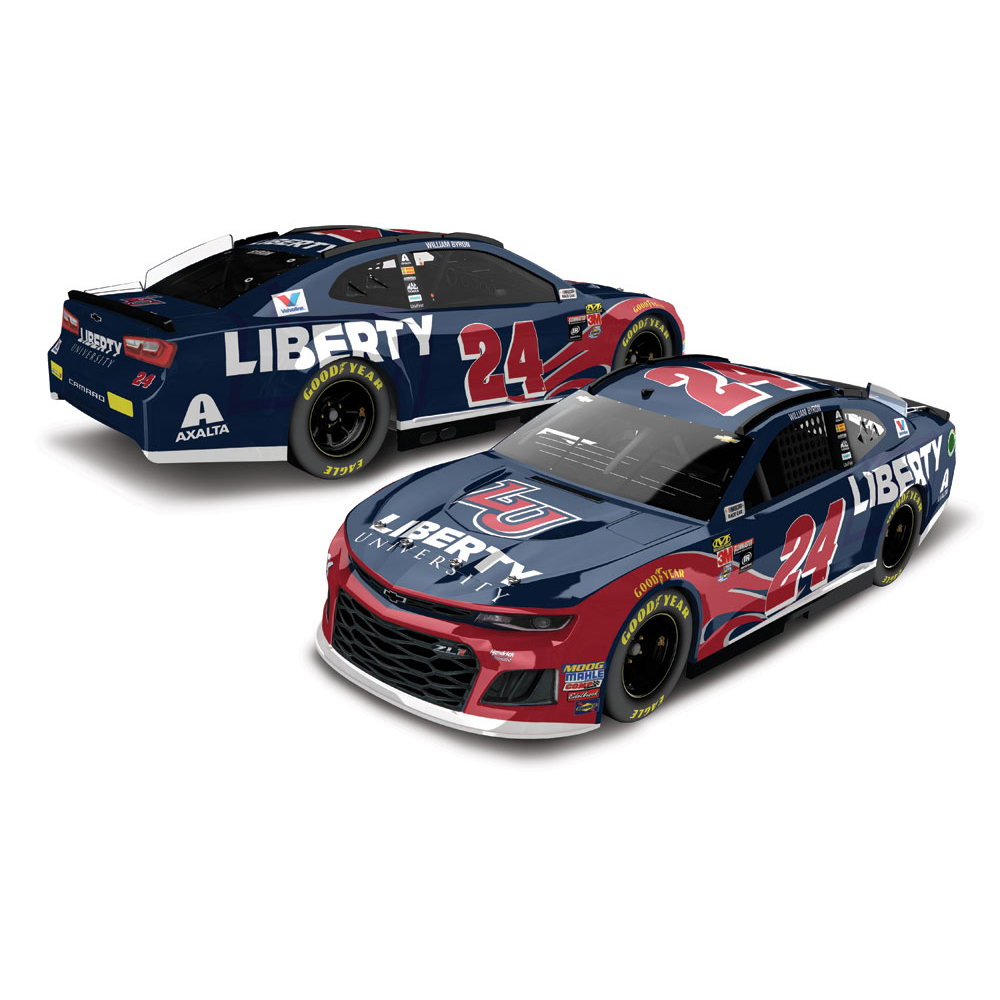 William Byron 2018 NASCAR Cup Series No. 24 Liberty University ELITE 1:24 Die-Cast