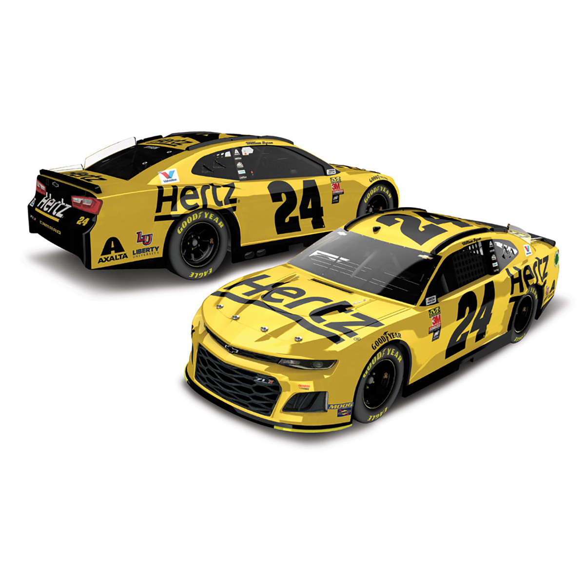 William Byron #24 2019 Hertz HO 1:24 - Die Cast