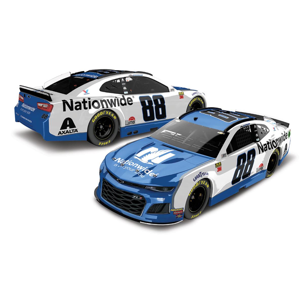 2019 #88 NASCAR Alex Bowman Nationwide 1:64 Die-Cast