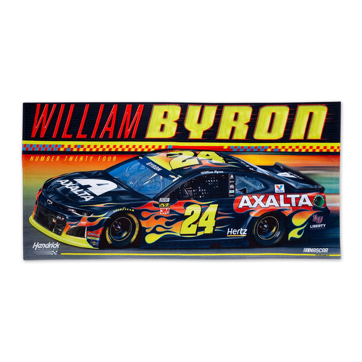 #24 NASCAR William Byron Spectra Beach Towel