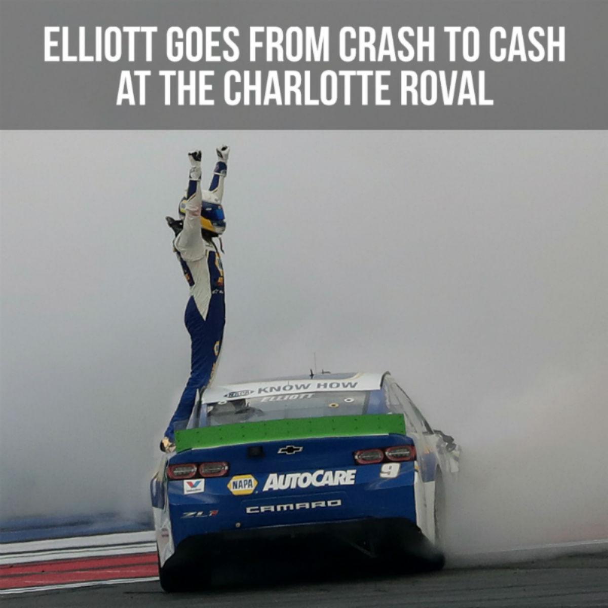 Chase Elliott NASCAR Bank of America Roval 400 Race Win 1:64 Die-Cast