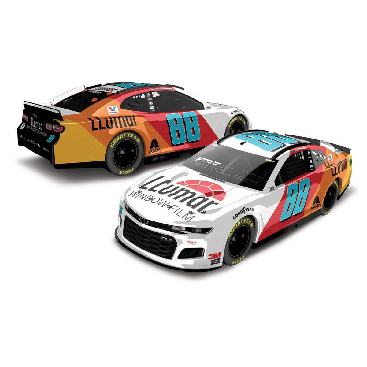 Alex Bowman #88 2020 LLumar® Chevrolet Camaro NASCAR 1:64 - Die Cast