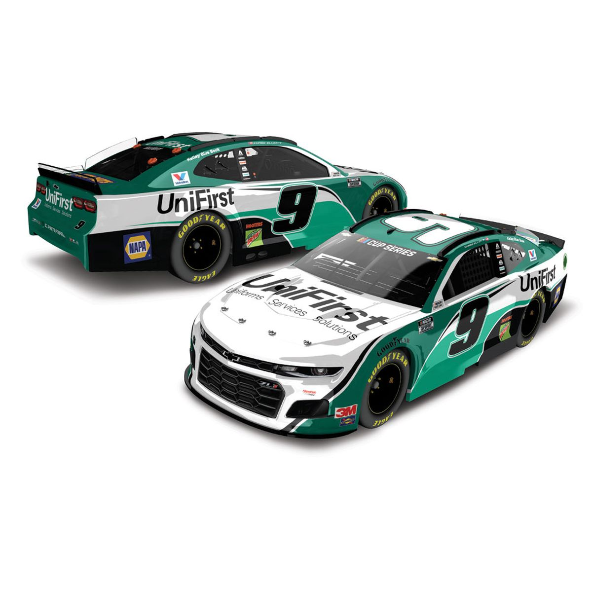 Chase Elliott UniFirst 2020 NASCAR Cup HO 1:24 - Die Cast