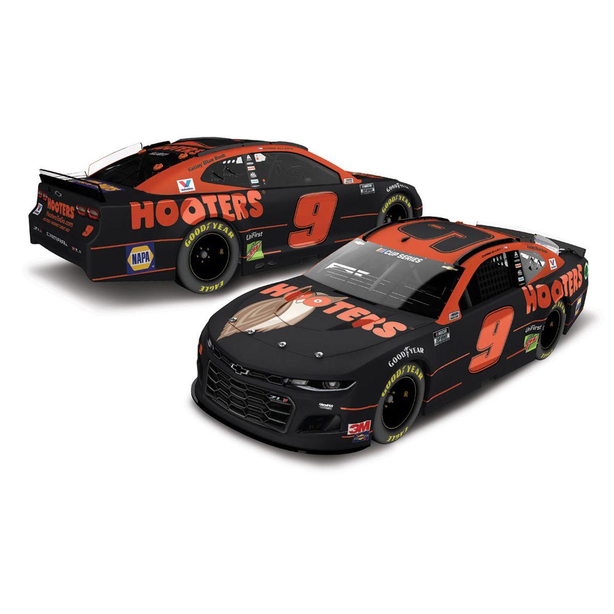 Chase Elliott Hooters 2020 NASCAR Cup 1:64 - Die Cast