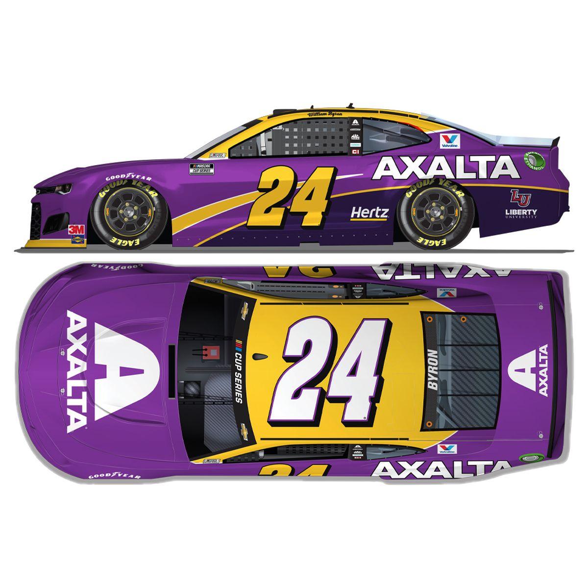 William Byron #24 2020 Axalta Tribute NASCAR 1:64 - Die Cast