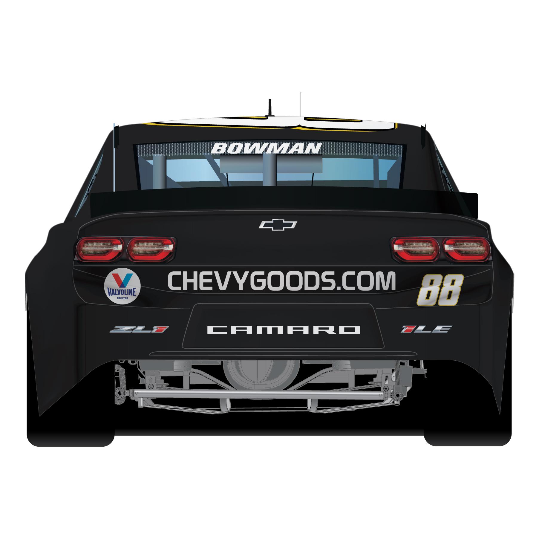 Alex Bowman #88 2020 NASCAR All-Star Race Chevy Goods Adams Polishes 1:64 Die-Cast