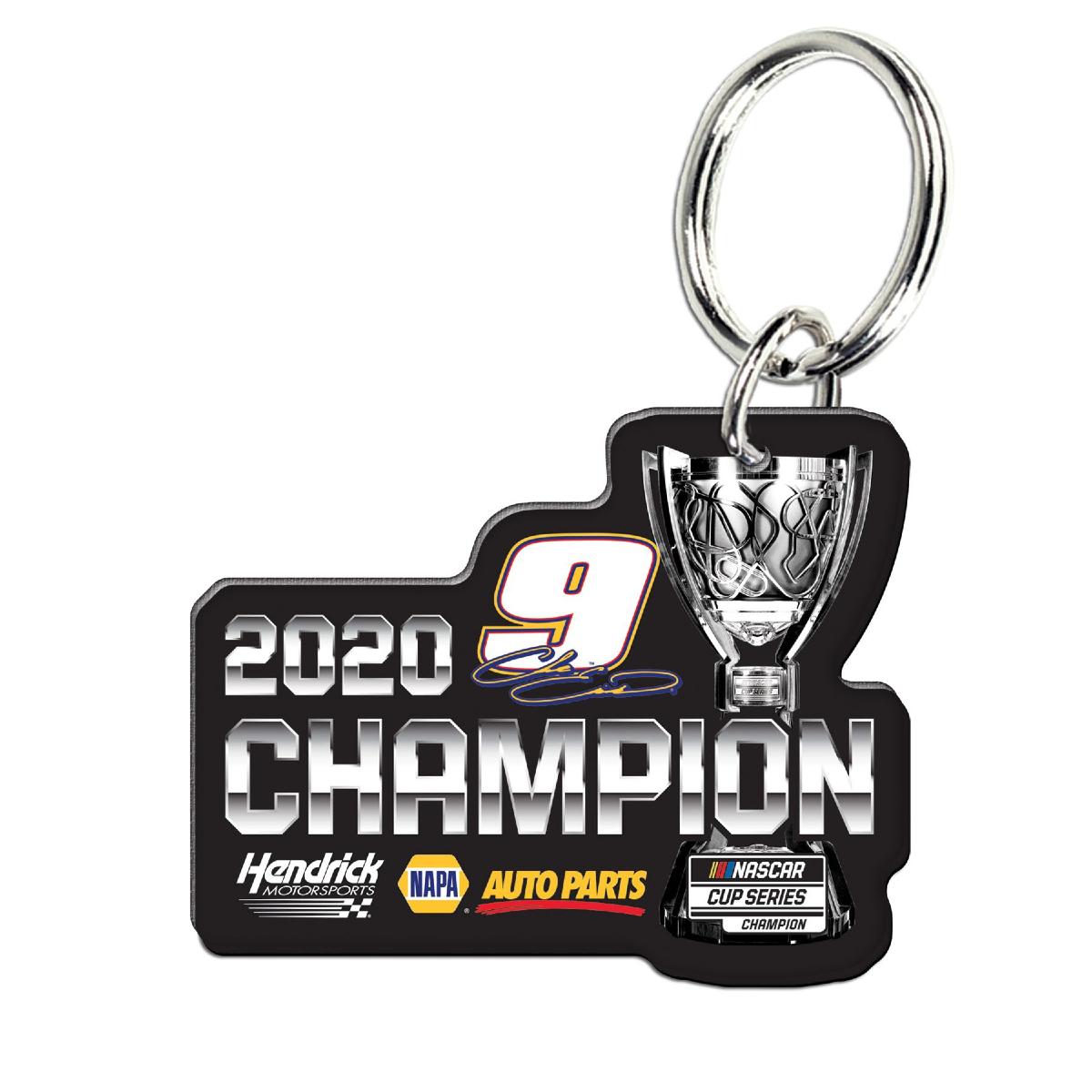 NASCAR 2020 Champion Premium Acrylic Key Ring