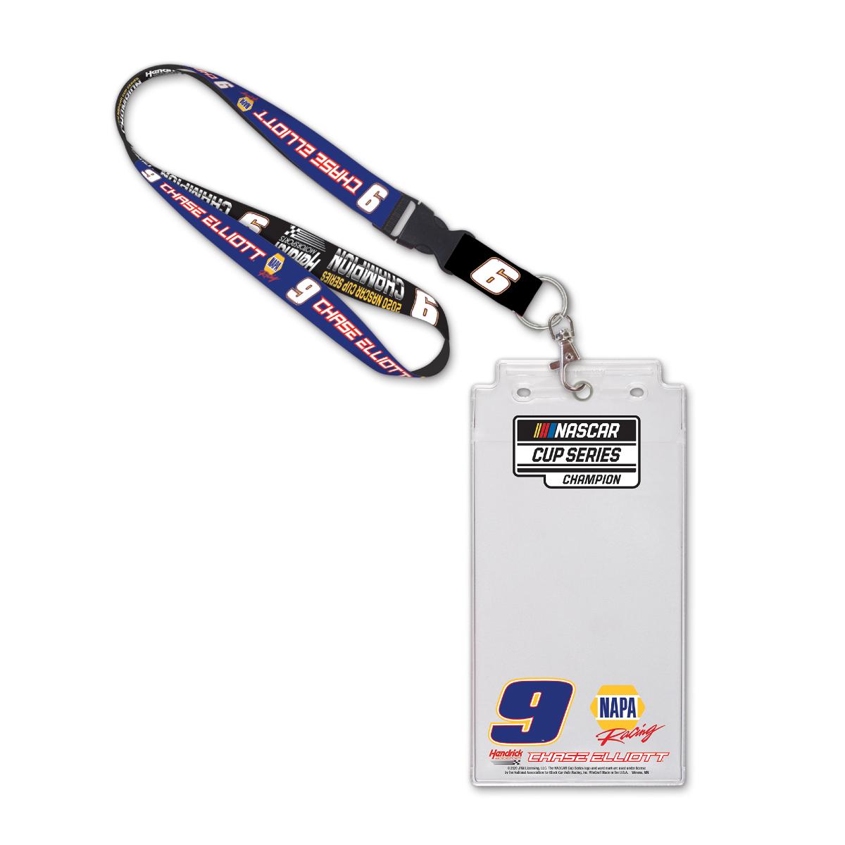 NASCAR 2020 Champion Lanyard & Credential Holder