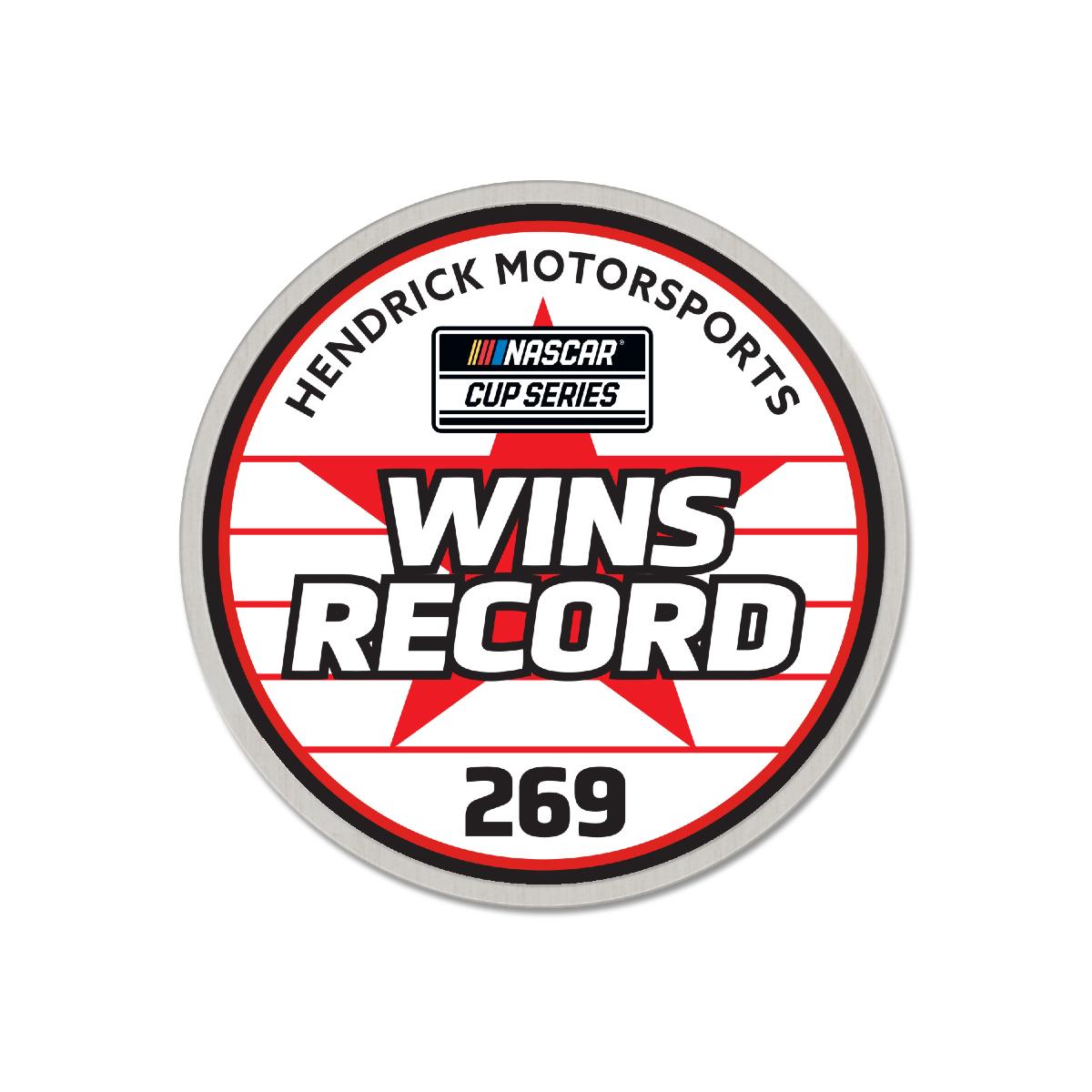 Hendrick Motorsports 269 Die-Struck Collector Pin