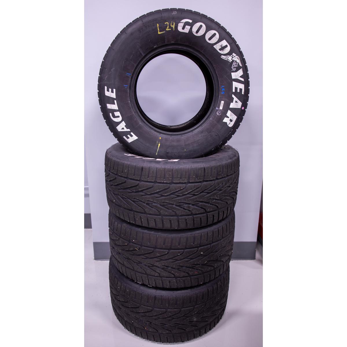 Race Used 2021 William Byron #24 COTA Rain Tire - Austin (5/23/2021)