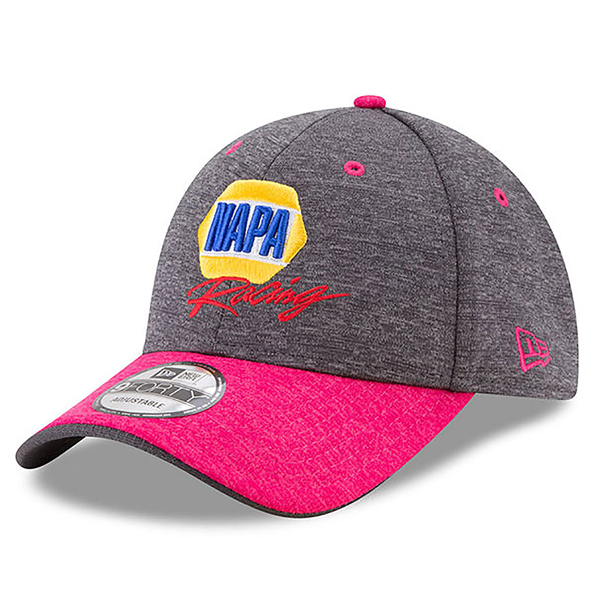 Chase Elliott #24 2017 NAPA Breast Cancer Awareness 9FORTY Adj Hat