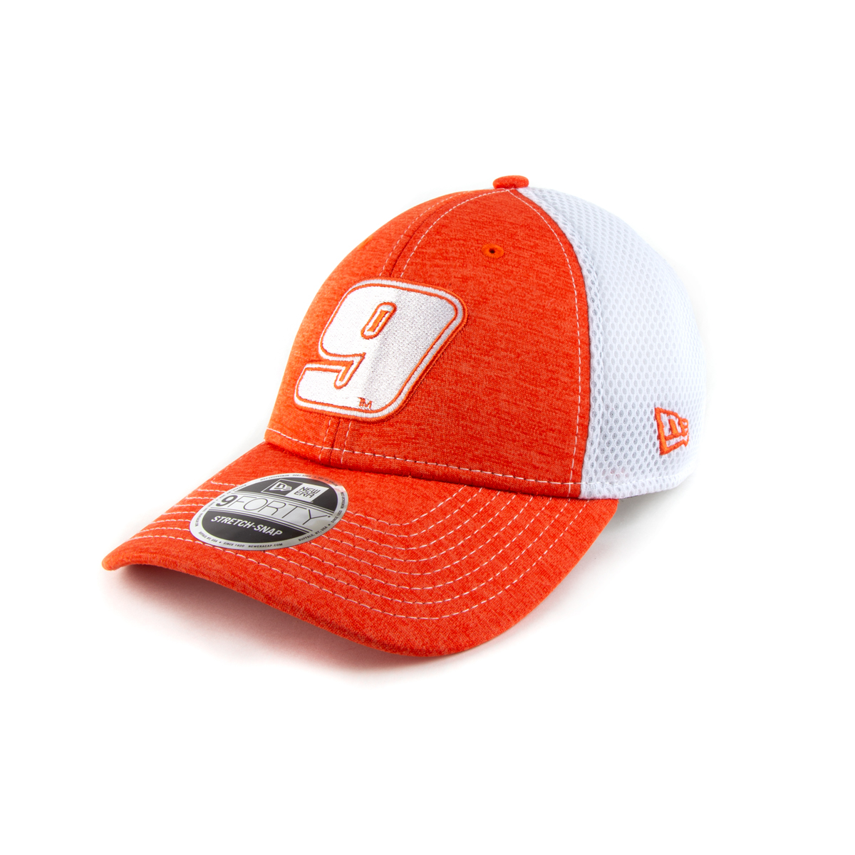 Chase Elliott #9 2020 Hooters 9FORTY New Era Stretch Snap Hat