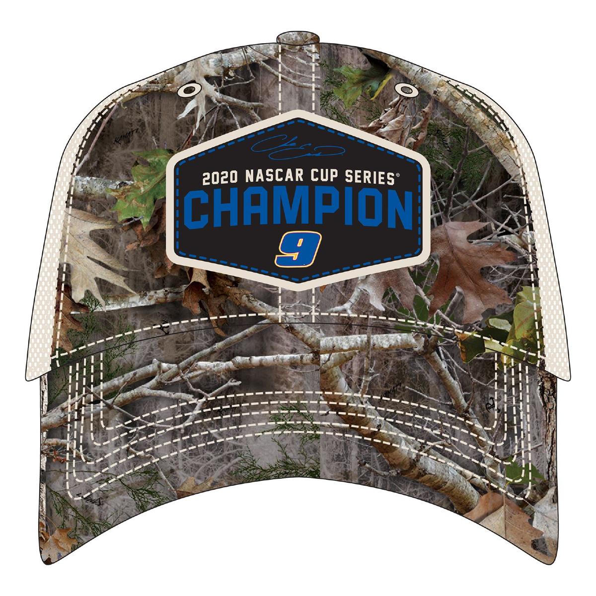 2020 NASCAR Champ Chase Elliott  - Adult TrueTimber Camo Champ Hat