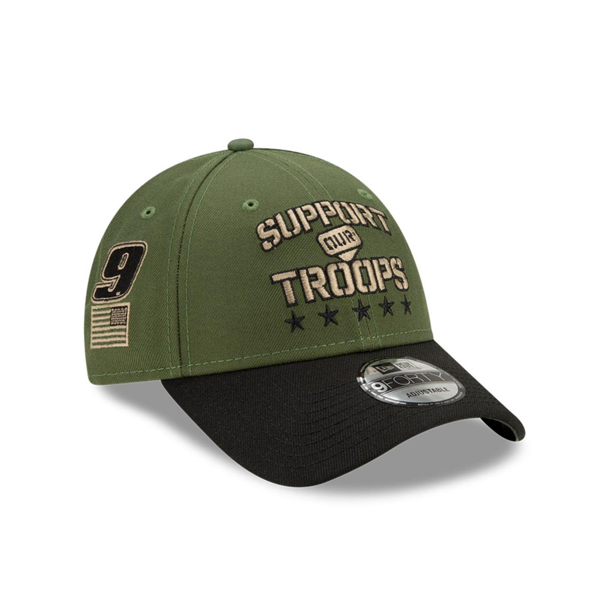 Chase Elliott #9 2021 Military Salute Hat