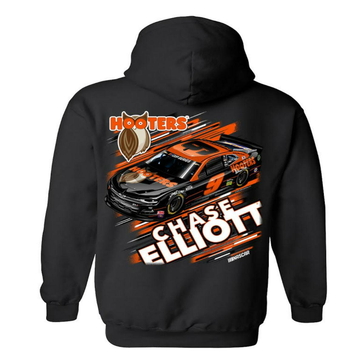 Chase Elliott #9 2020 Hooter's Car Hoodie