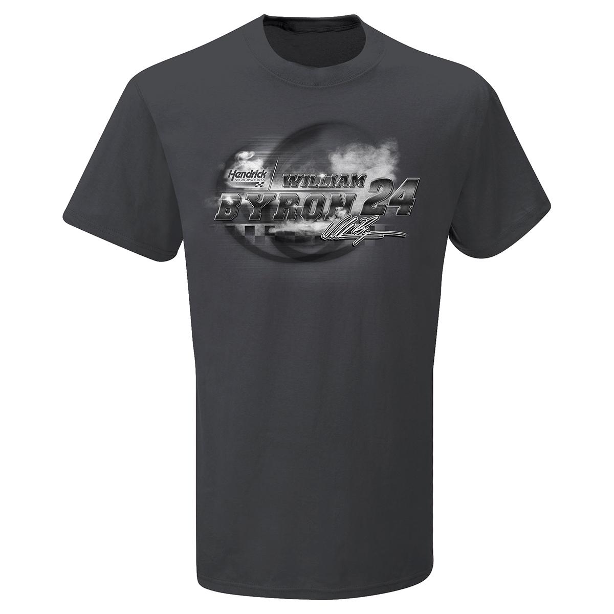 William Byron #24 Steel Thunder T-shirt