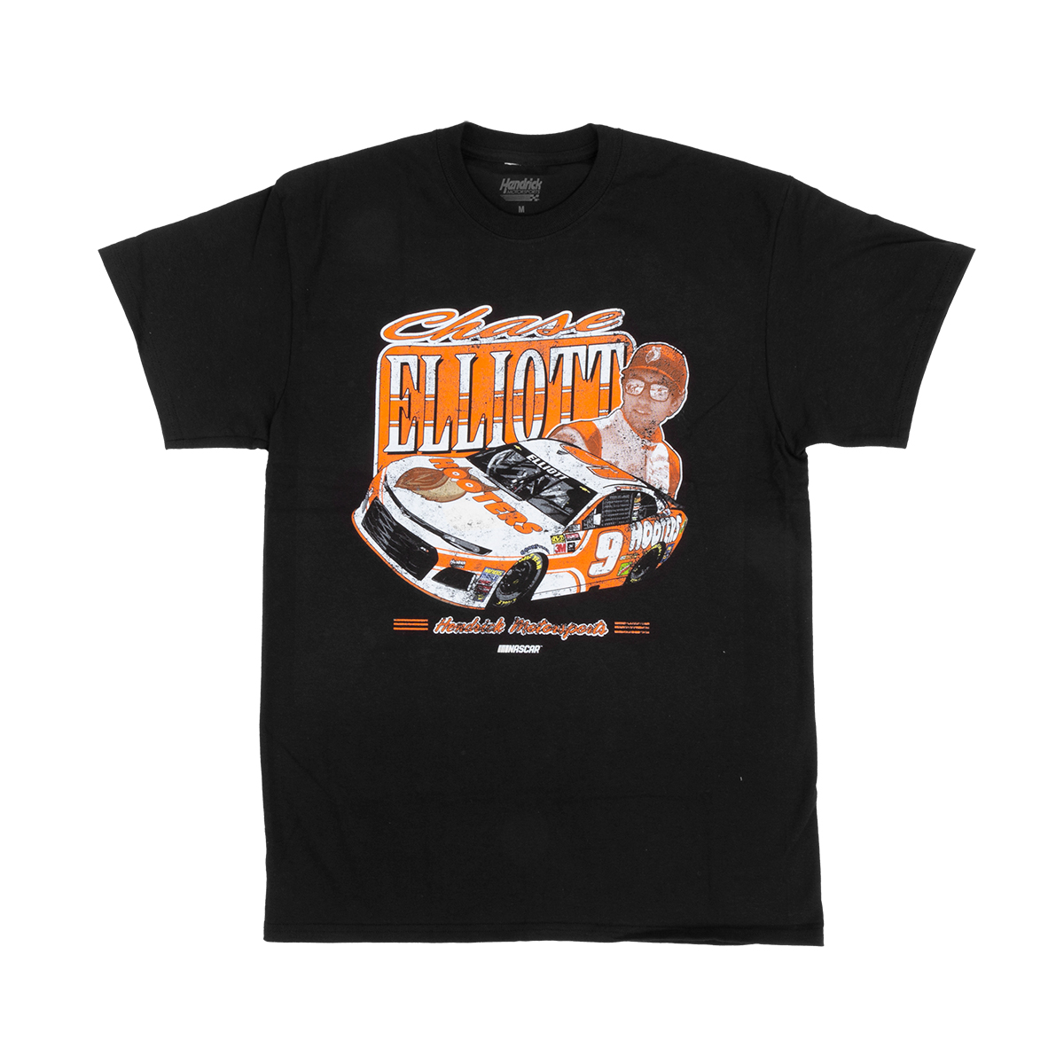 Chase Elliott 2018 #9 Hooters Vintage 1-spot T-shirt