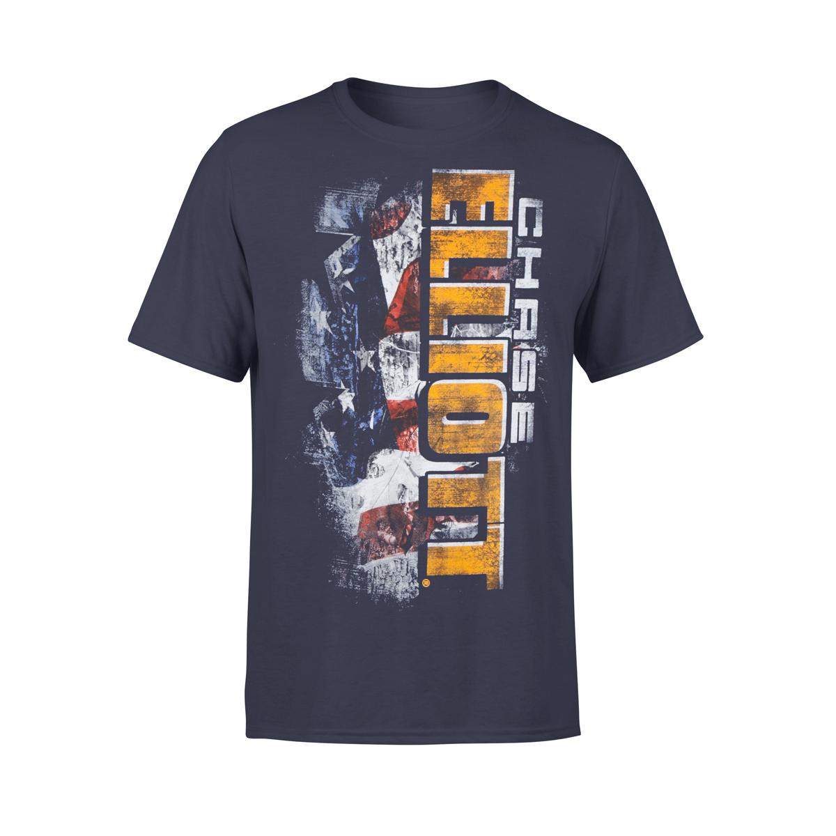 #9 NASCAR Chase Elliott TrueTimber Patriotic T-shirt