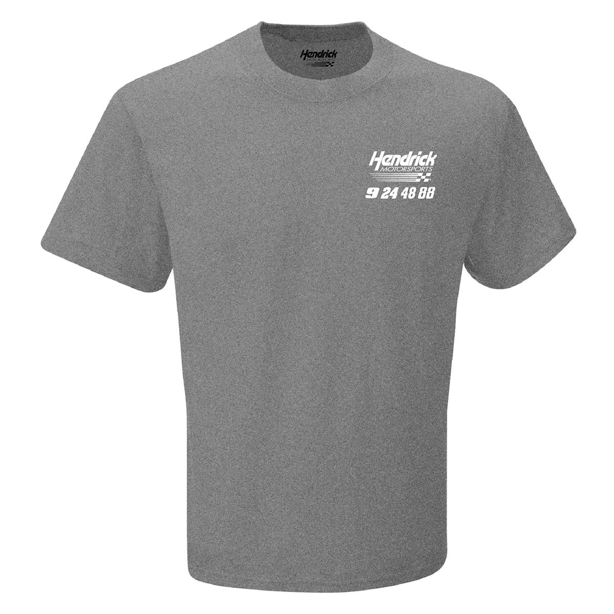 2019 NASCAR Hendrick Motorsports 4 Number Gray T-shirt