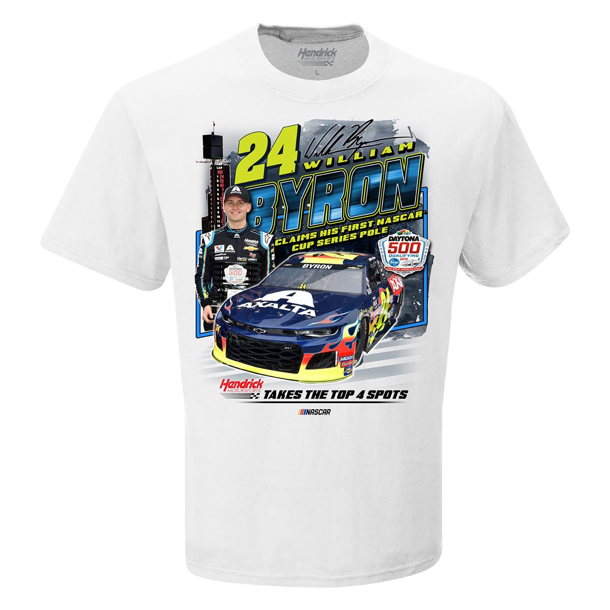 William Byron 2019 NASCAR Daytona 500 Pole Winner T-shirt