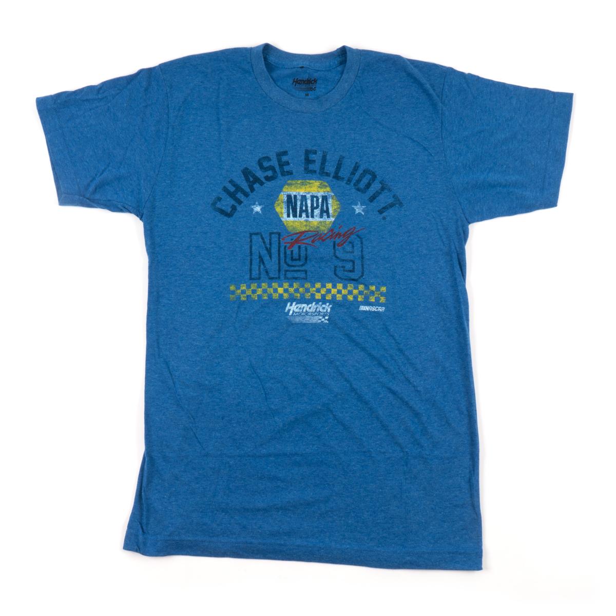 #9 Chase Elliott 2019 NASCAR Blue Victory T-shirt
