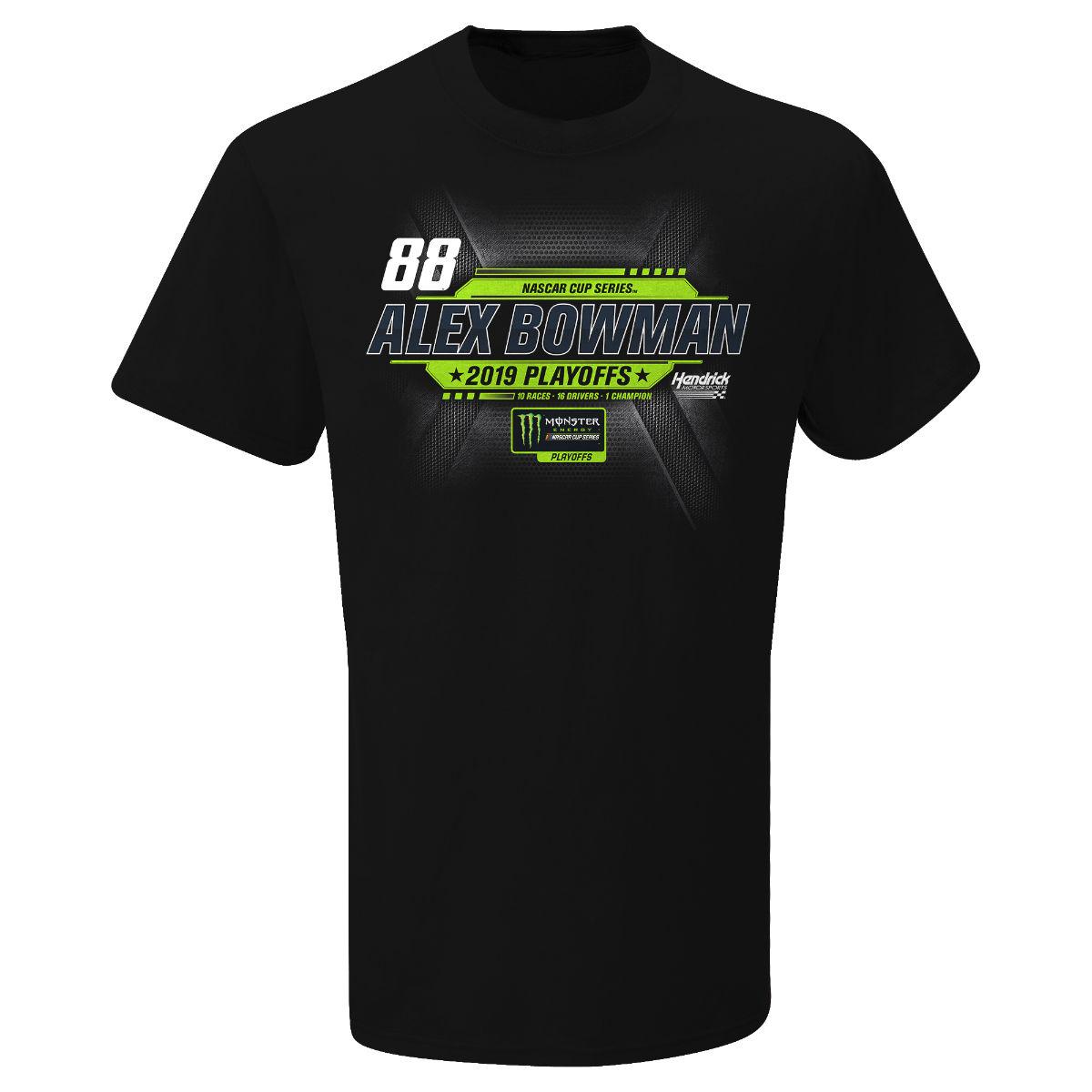 Alex Bowman #88 2019 NASCAR PLAYOFF AXALTA scheme T-shirt