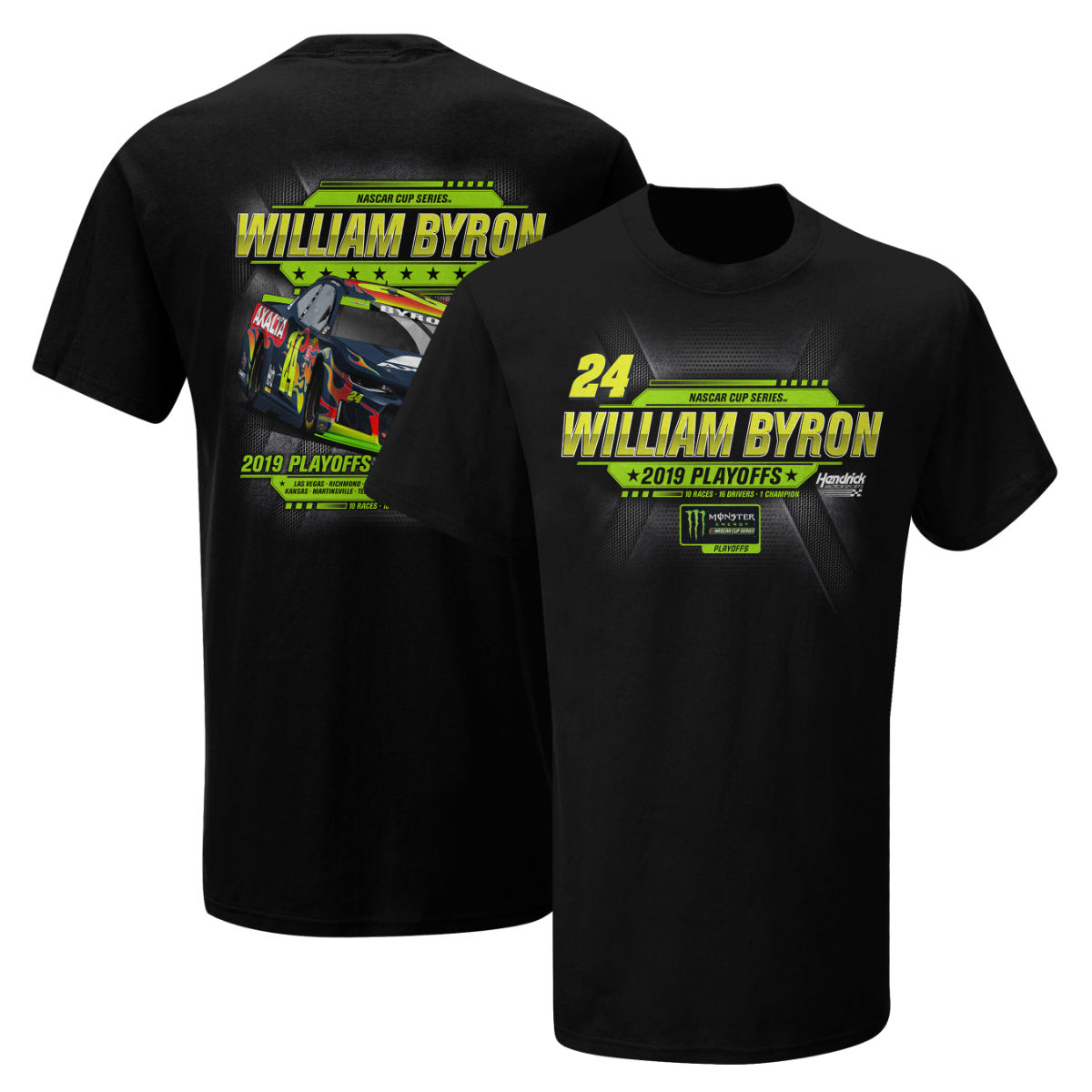 William Byron #24 2019 NASCAR PLAYOFF T-shirt