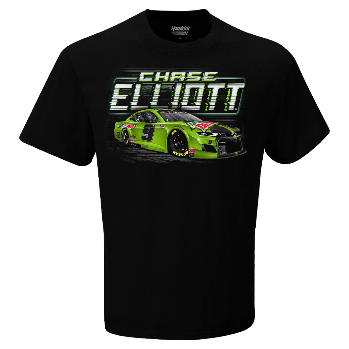 Chase Elliott #9 Mountain Dew T-Shirt