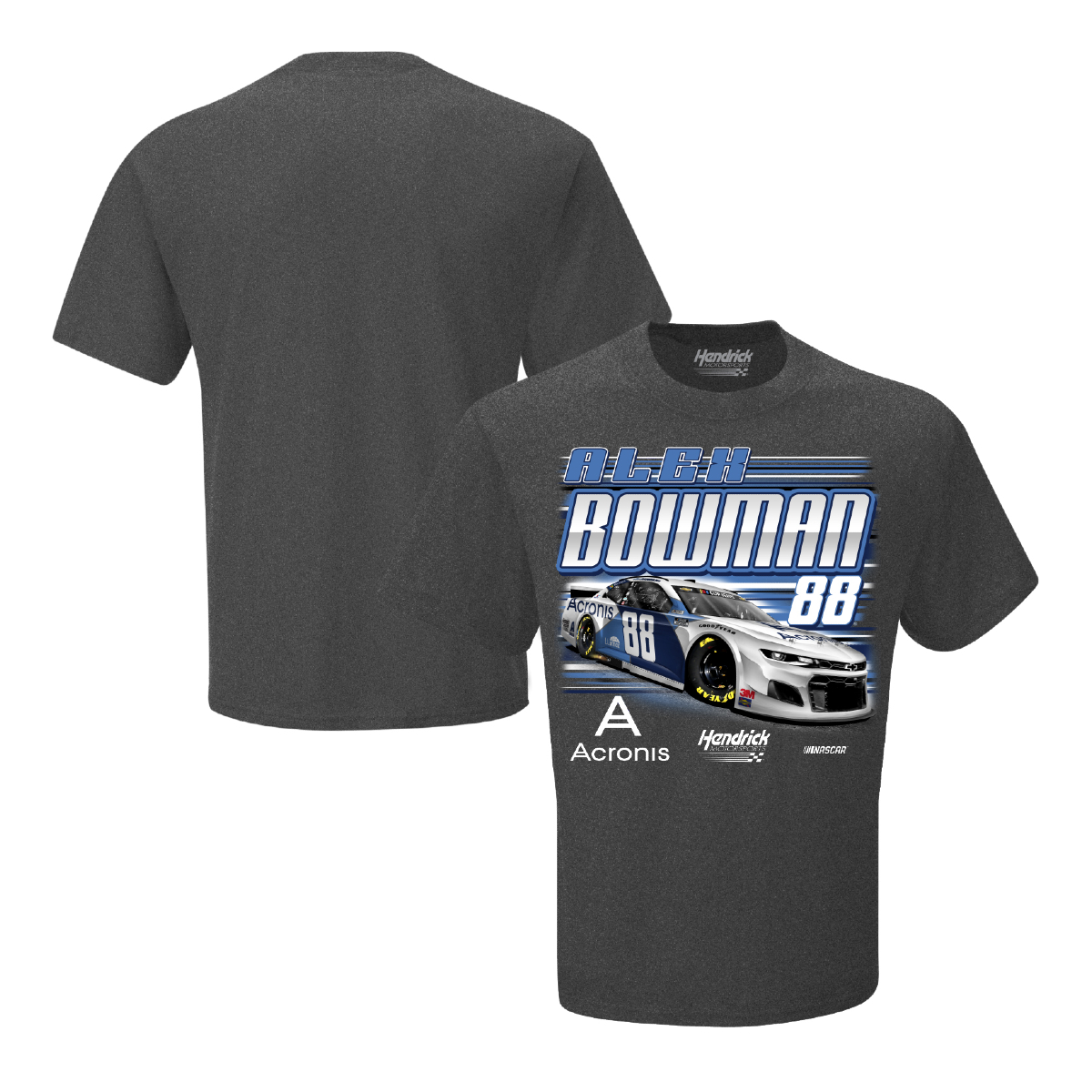 Alex Bowman No. 88 Hendrick Motorsports Team Collection: Acronis Tee