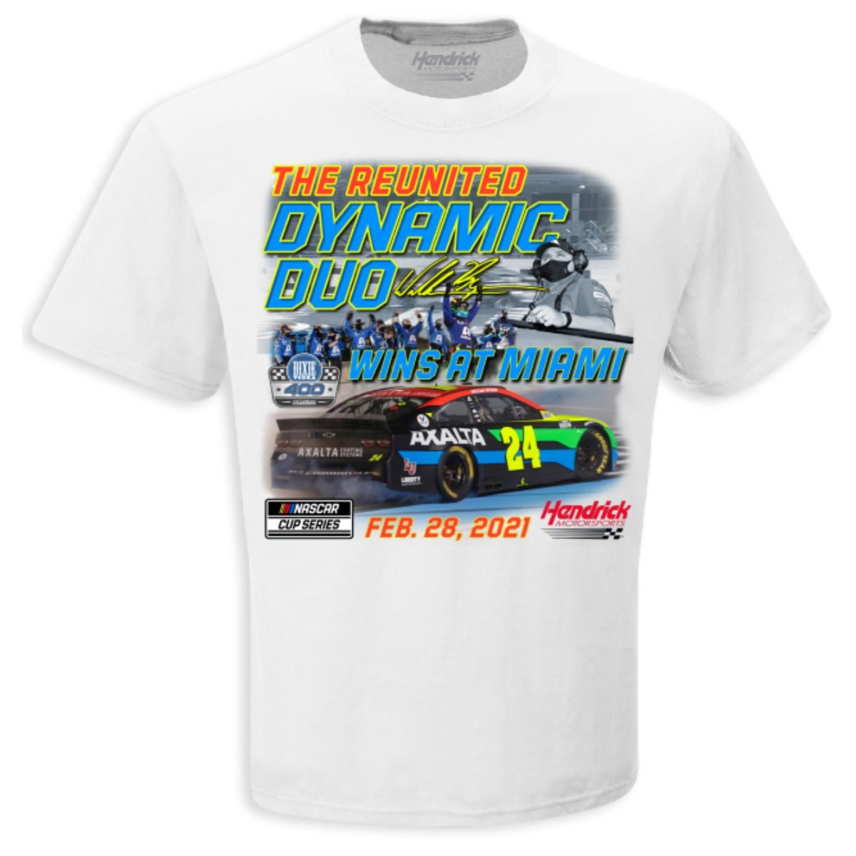 William Byron 2021 NASCAR Dixie Vodka 400 Winner T-shirt