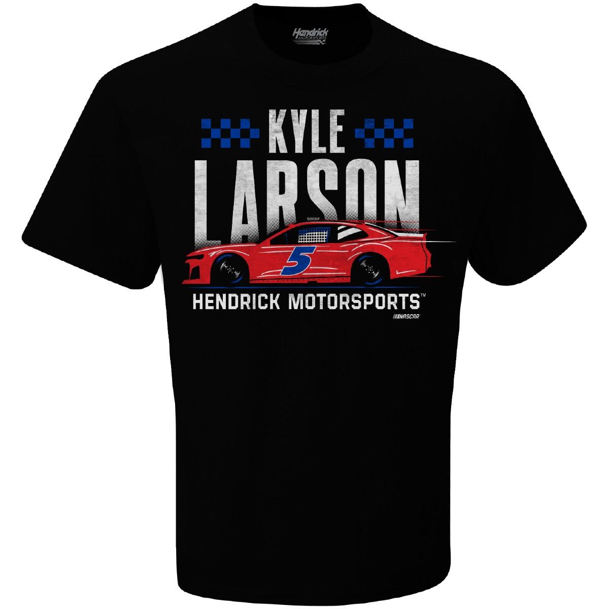 Kyle Larson 2021 #5 Black Graphic Tee