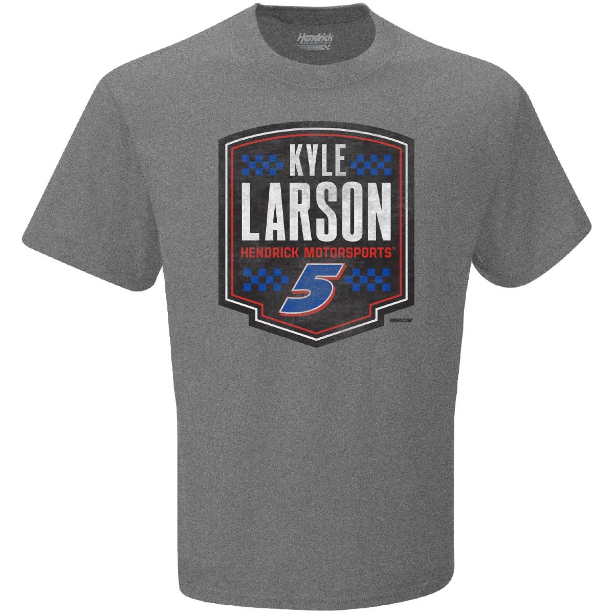 Kyle Larson #5 Shield Graphic Tee