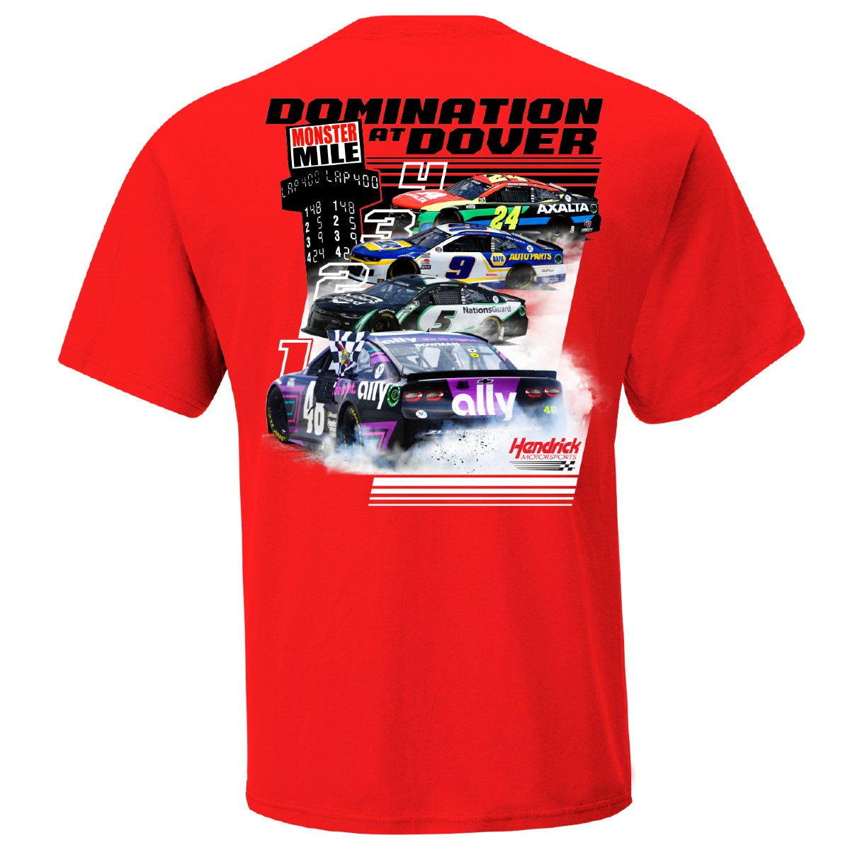 Hendrick Motorsports Top 4 at Dover Graphic Tee