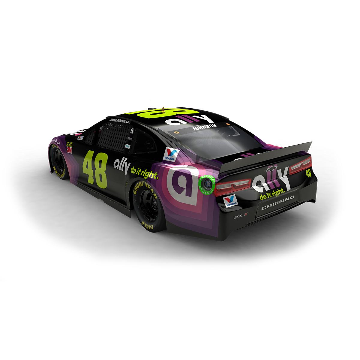 Jimmie Johnson 2019 NASCAR Ally Elite 1:24 Die-Cast