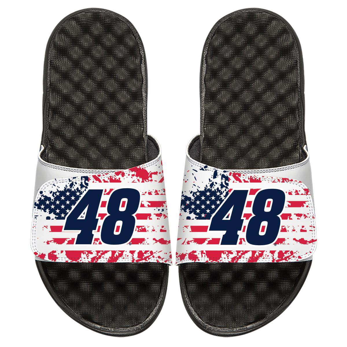 #48 Jimmie Johnson NASCAR American Flag ISlides