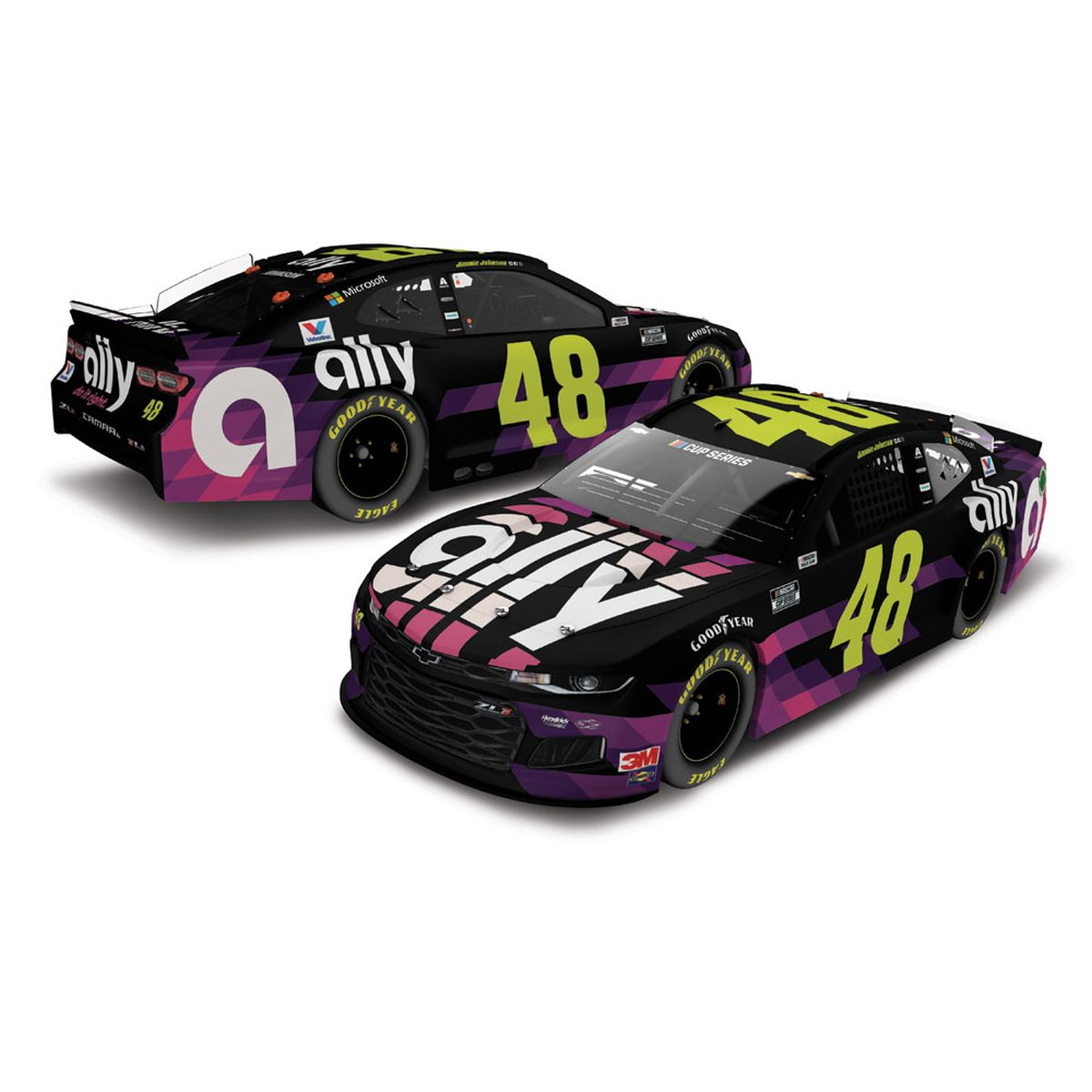 Jimmie Johnson #48 2020 Ally NASCAR Cup 1:24 ELITE - Die Cast