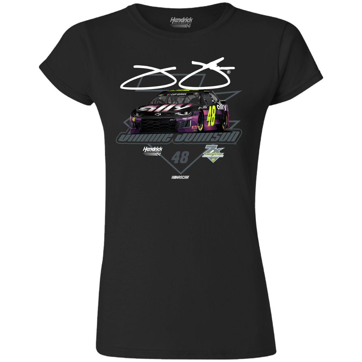 Jimmie Johnson #48 2020 Car Ladies T-shirt