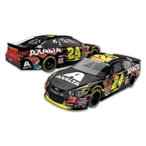 Jeff Gordon 2015 #24 Axalta 1:64 Scale Nascar Sprint Cup Series Die-Cast