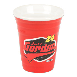 Jeff Gordon 2015 2 oz. Red Solo Cup Collectors Shot Glass