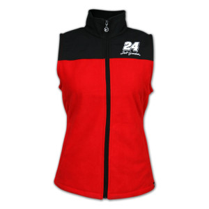 Chase Authentics Jeff Gordon - Ladies Colorblock Fleece Vest