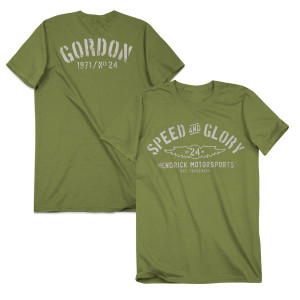 Jeff Gordon #24 Men's Speed & Glory T-Shirt