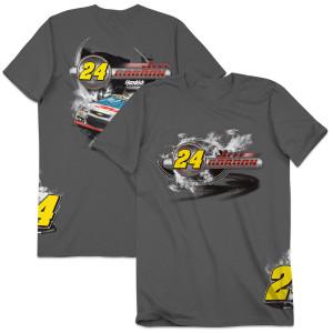 Jeff Gordon #24 Burnout T-Shirt