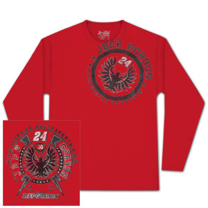 Jeff Gordon #24 Metal Sheet Longsleeved T-shirt